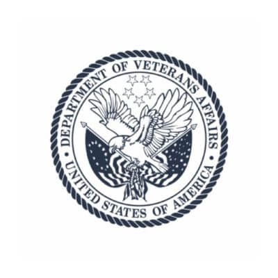 U.S. Department of Veterans Affairs shield logo